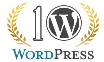 10. Geburtstag von WordPress