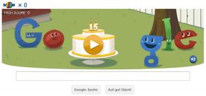 15. Geburtstag von Google Deutschland