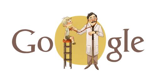Albert Czerny - Google Doodle