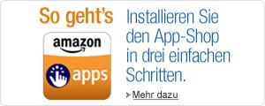 Amazon App installieren