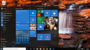 Desktop mit Startmenü Windows 10