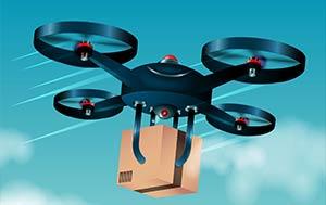 Drohnen als Paketlieferanten