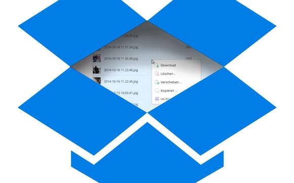 dropbox mehrere bilder gleichzeitig