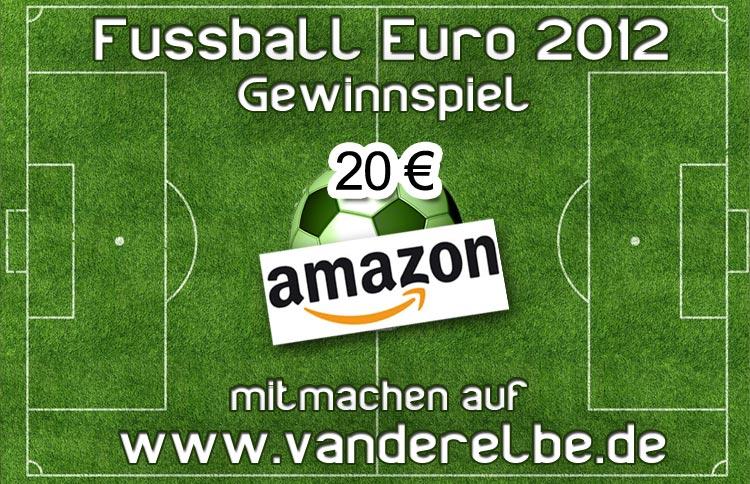 Europameisterschaft 2012 Gewinnspiel Flyer 20€ Amazon Gutschein