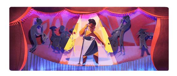 Ella Fitzgerald - Google Doodle