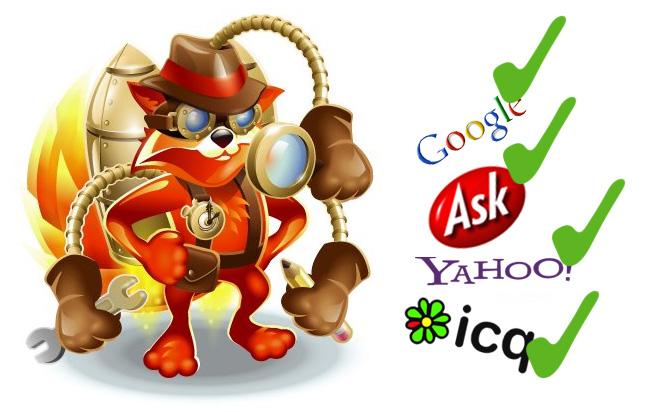 Firefox Adressleiste: Suchmaschine ändern