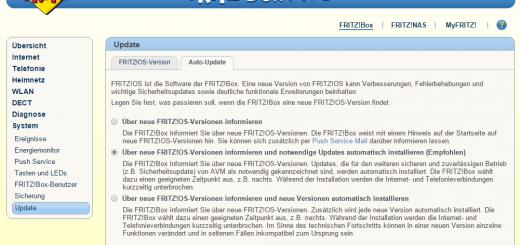 Fritzbox 7490 Auto Update