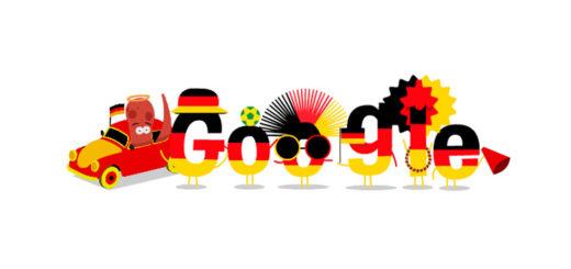 Fußball Weltmeisterschaft 2014 – Google Doodle