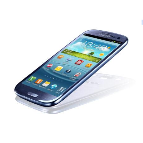 Galaxy S3 seitlich