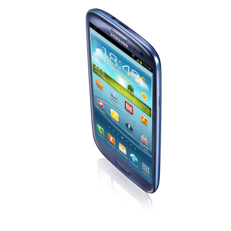 Galaxy S3 von oben