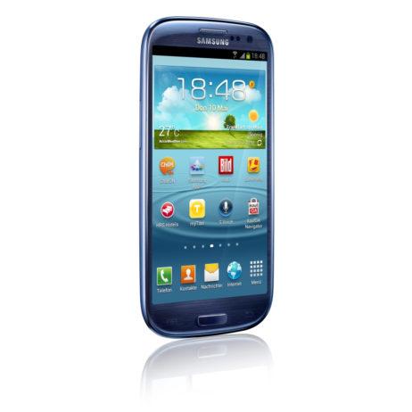 Galaxy S3 von vorne 2