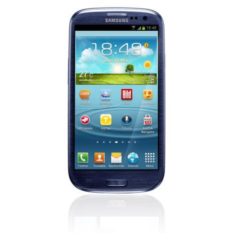 Galaxy S3 von vorne