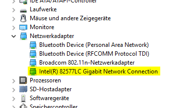 Geräte-Manager Windows 10