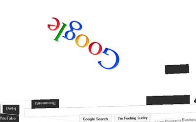 Google Easter Eggs Gravity