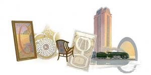 Henry van de Velde - Google Doodle