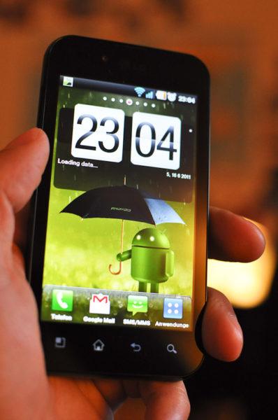 LG Optimus Black p970 mit Android
