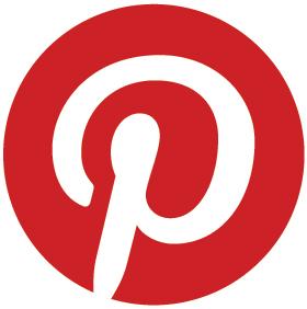 Rundes Pinterest Logo
