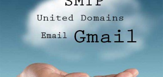 SMTP-United-Domains-Gmail