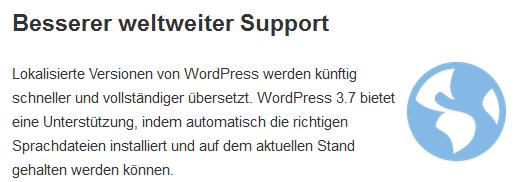Sprach Support
