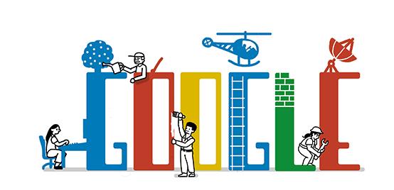 Tag der Arbeit 2013 - Google Doodle