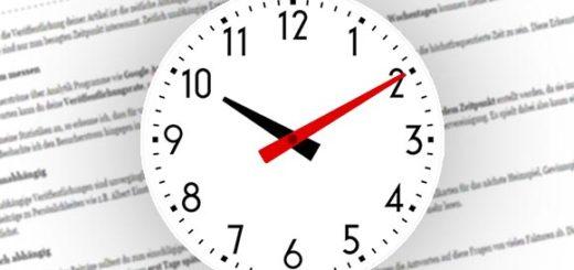 Timing fürs Artikel veröffentlichen