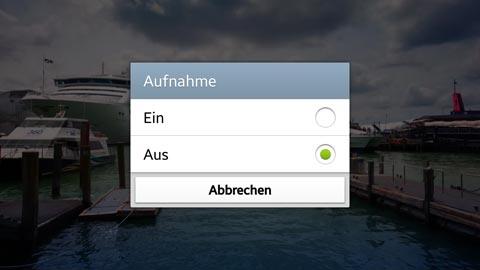 Galaxy S3: Videoscreenshot Aufnahme