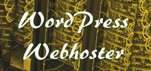 Welchen Webhoster für Wordpress wählen?