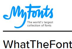 WhatTheFont