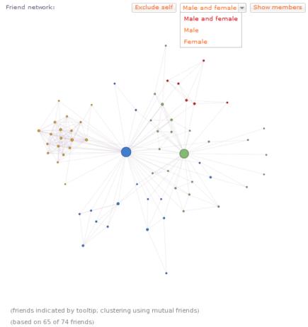 WolframAlpha-my-Facebook-Freundesnetzwerk