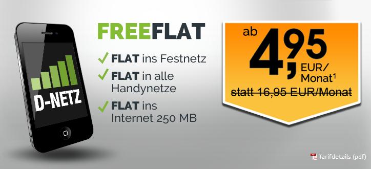 freeFlat Preisaktion von crash