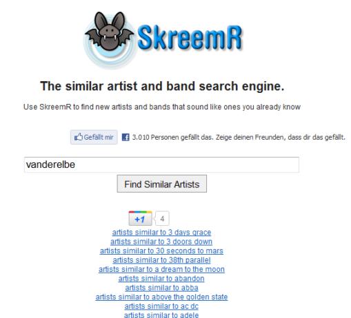 Screenshot von SkreemR